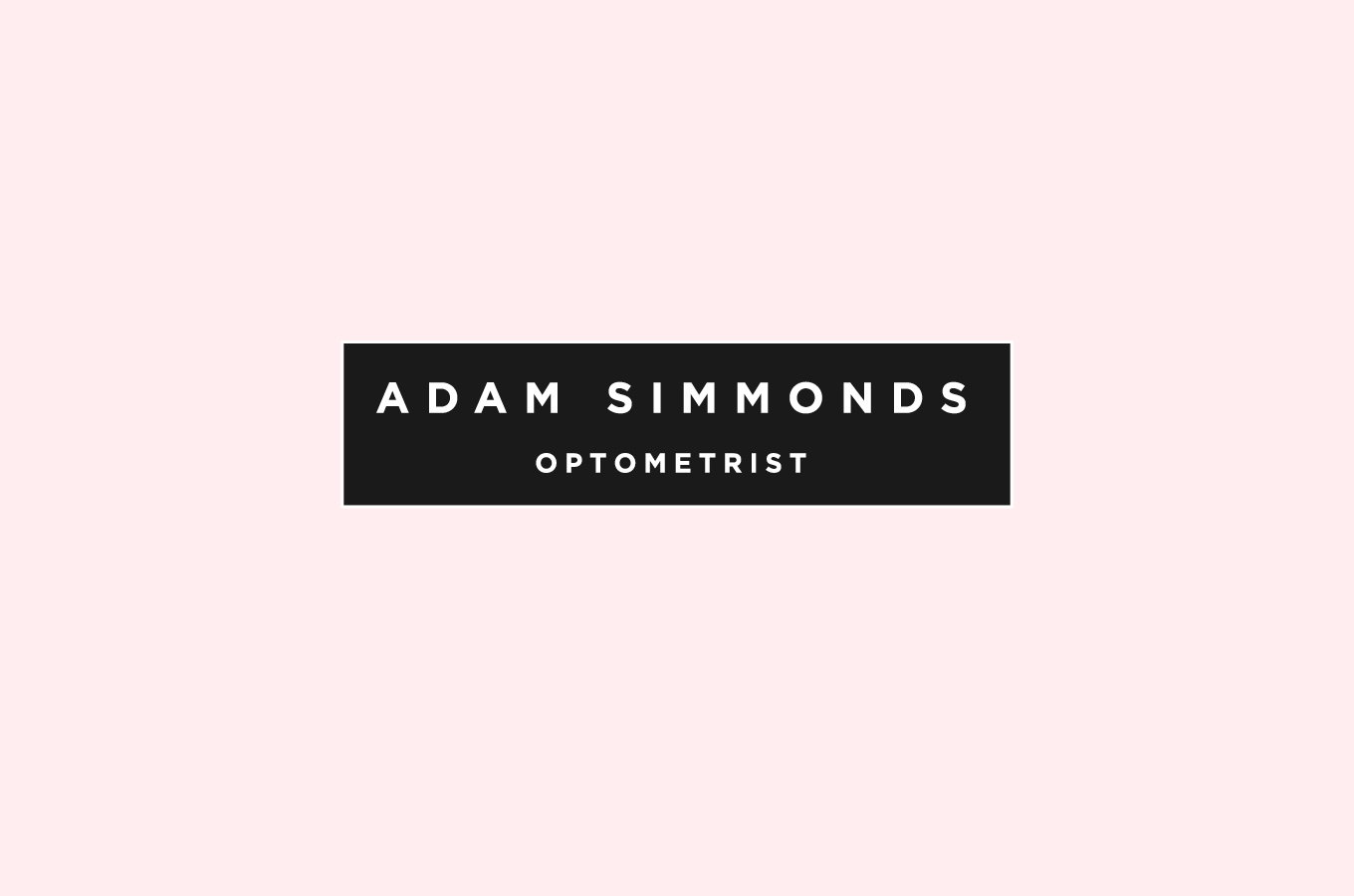 Adam Simmonds brand identity